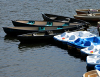 Canoes at the Dock